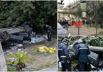 Un român din Italia a murit strivit în maşină, s-a prăbușit cu Opelul de pe un pod din Roma, de la 8 metri înălţime