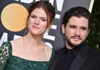 """Kit Harington şi Rose Leslie din """"Game of Thrones"""" au devenit părinți! Actorii au dezvăluit sexul bebelușului!"""
