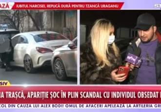 """Reacția bărbatului care o urmărește pe Simona Trașcă, după ce a văzut-o cu capul bandajat:  """"Sunt șocat"""""""