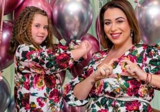 """Oana Roman, urare specială pentru micuța Isabela, de ziua ei. """"M-ai învățat căexistăiubire fără limite"""""""
