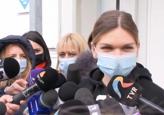 """Simona Halep s-a vaccinat anti COVID-19 la Institutul Cantacuzino: """"Acest vaccin este spre binele tuturor"""""""