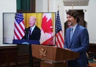 Președintele Joe Biden speră să stabilească o bună legătură cu premierul Canadei, în prima întâlnire bilaterală cu un lider străin de la preluarea mandatului