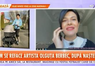 """Olguța Berbec trece prin momente dificile, după ce a devenit mamă pentru a doua oară. """"Pentru mine lucrul acesta este grav"""""""