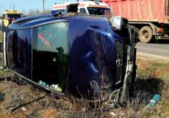 Accident teribil în Caracal! O femeie a murit, iar alte trei au ajuns în stare gravă la spital