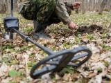 Descoperirea făcută de un bărbat cu detectorul de metale, într-o pădure din Bihor. FOTO