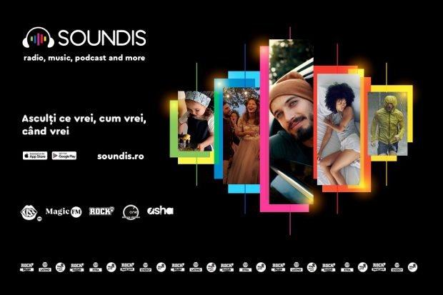 A.G. Radio Holding anunță lansarea platformei digitale SOUNDIS (PUBLICITAE)