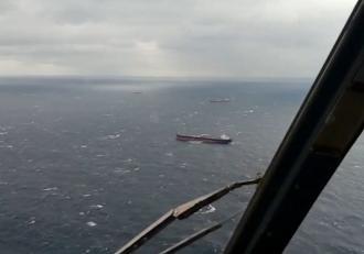 O navă sub pavilion ucrainean s-a scufundat în Marea Neagră. Doi marinari au murit, zece au fost salvaţi şi unul este în continuare căutat
