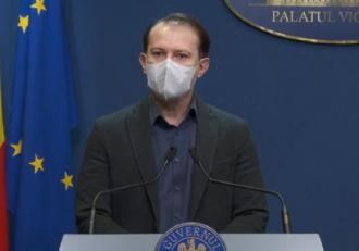 """Premierul Florin Cîțu acuză o campanie împotriva vaccinării: """"Sunt acţiuni similare cu acţiunile unor terorişti"""""""