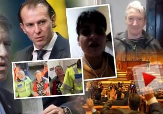 """VIDEO / Președintele, premierul și parlamentarii, pe lista teroristelor care au încercat să o ucidă pe Mirela Vaida / """"O să vă mănânc coliva!"""""""