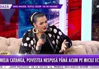 Ultima apariție publică a Corneliei Catanga a fost la Antena Stars, de ziua ei de naștere. Artista și-a povestit atunci drama