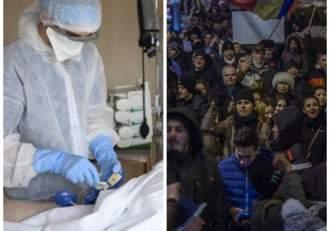 """Reacția medicilor după protestele violente din fața spitalelor: """"Am ajuns, din eroi, torționari"""""""