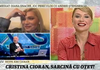 Cu ce probleme se confruntă în sarcină Cristina Cioran! Actrița a dezvăluit la Xtra Night Show ce pofte ciudate are / VIDEO