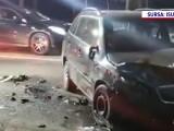 Doi tineri, ajunși la spital după un accident pe DN1, în care mașina lor a fost izbită de un tir