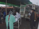 Incendiu într-un spital cu bolnavi de COVID-19, în India. Zece persoane au murit
