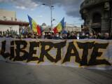 Un nou protest în Capitală. Aproximativ 150 de persoane au ieșit în stradă