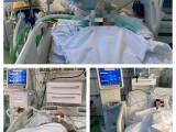 """Un manager de spital a publicat imagini de la ATI. """"Unii protestatari vor supraviețui, alții nu"""""""