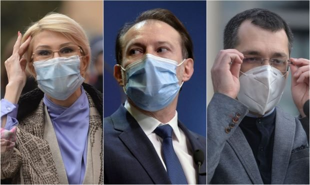 """Premierul, după ce Turcan și Voiculescu au încălcat măsurile de prevenție. """"Le-am cerut celor doi colegi să plătească amenda"""""""