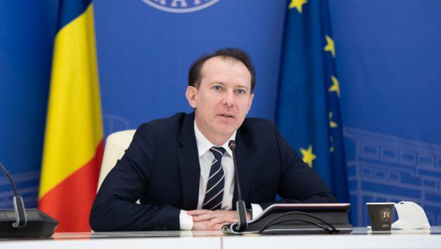 """Florin Cîțu, apel către români să se înscrie pe platforma de vaccinare: """"Sper să nu avem doze rămase"""""""