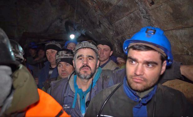 După un lung protest în subteran, minerii de la exploatarea de uraniu de la Crucea au încetat conflictul și revin de luni la muncă