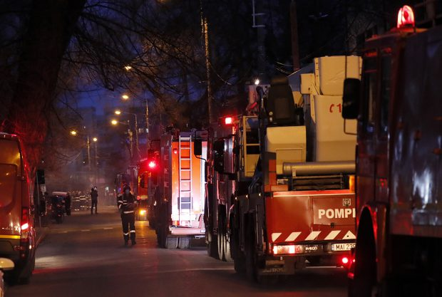 Incendiu la Spitalul de Psihiatrie din Cavnic. Zeci de persoane au fost evacuate