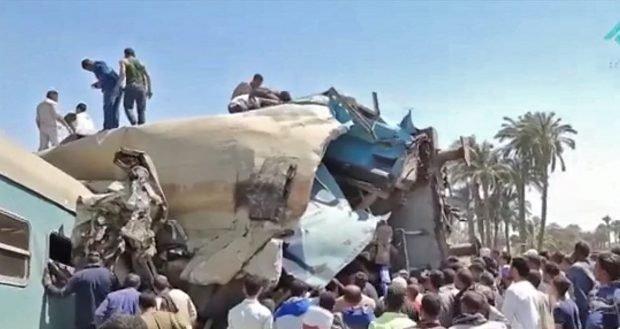 Două trenuri s-au ciocnit, în Egipt. Bilanț provizoriu: 32 de morți și 66 de răniți