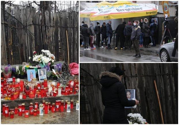 """Revoltă pe strada unde o șoferiță cu Mercedes le-a omorât pe Raisa și Mihaela: """"Să vină cineva de la Poliția Română să vorbească cu noi, cu familiile îndurerate!"""""""