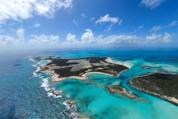 Cea mai mare insulă privată din Bahamas va fi scoasă la licitație. La cât e evaluată proprietatea