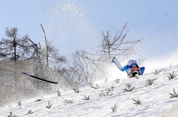 Săritorul cu schiurile norvegian Daniel Andre Tande, plasat în comă artificială după o căzătură groaznică
