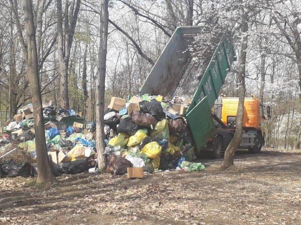 """Clotilde Armand, despre munții de gunoaie din Herăstrău: """"A expirat contractul de salubrizare"""""""