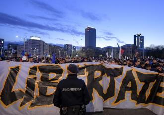 Jandarmeria a dat amenzi noi de 366.000 de lei, după analizarea imaginilor de la proteste