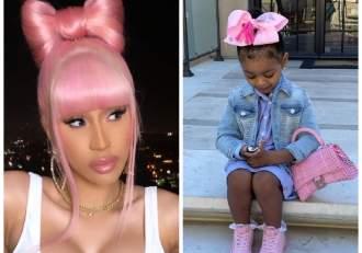 Cardi B i-a cumpărat 7 genți de firmă fetiței ei de 2 ani. Câte mii de dolari a cheltuit artista