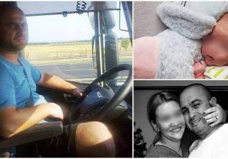 Doru, un tânăr şofer de TIR din Zalău, proaspăt tătic, a murit la doar 36 de ani. S-a stins la spital, după ce s-a infectat cu COVID