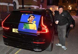 Ambasadorul Myanmar la Londra și-a petrecut noaptea în maşină, după ce a fost încuiat pe dinafară