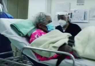 La 104 ani, o bătrânică din Columbia a învins coronavirusul de două ori