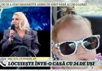 """Adina de la Heaven a stat un an despărțită de iubit! Cântăreața a dezvăluit motivul la Xtra Night Show: """"Trebuia să fim precauți"""" / VIDEO"""