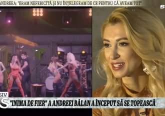 """Andreea Bălan, adevărul despre relația cu Tiberiu Argint! Declarații uluitoare la Xtra Night Show: """"Nu îmi fac planuri"""" / VIDEO"""