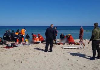Un scafandru și un geolog au murit, în Eforie Nord. Cei doi supravegheau lucrările de înnisipare a plajelor, când au dispărut în mare