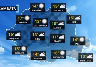 Vremea 10 aprilie. Va fi rece afară, dar temperaturile urcă treptat