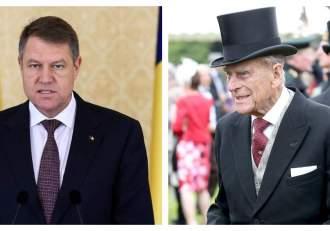 Klaus Iohannis, mesaj emoționant de condoleanțe pentru Familia Regală a Marii Britanii, după moartea Prințului Fhilip