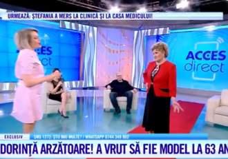 Acces Direct. Lucia a vrut să devină model, dar a fost păcălită cu sume mari de bani! Astăzi a defilat pe covorul roșu în platoul emisiunii / VIDEO