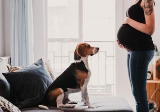 O viitoare mamă i-a cerut celei mai bune prietene să-i schimbe numele câinelui, ca să-l poată folosi pentru fiica ei
