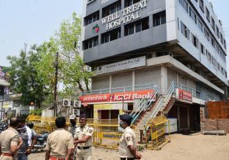 Incendiu devastator la un spital Covid-19 din India. Patru persoane şi-au pierdut viaţa