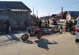 Sfârșit cumplit pentru un tânăr de 32 de ani din Cluj. Dan a plecat la plimbare cu motocicleta nașului său şi nu s-a mai întors