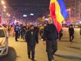 """Numărul manifestanților anti-restricții, mult mai mic în a patra seară de proteste: """"Nu mai acceptăm această dictatură"""""""
