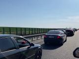 Trafic intens pe A2 Bucureşti – Constanţa spre sensul către Capitală. Coloane de maşini de aproape 2 kilometri