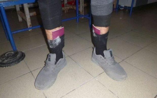 Un bărbat din Republica Moldova și-a ascuns pașapoartele false în șosete. Cum s-a dat de gol