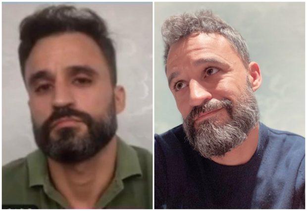 Asistent medical spaniol, în două poze făcute la un an distanță. Cât de mult l-a afectat pandemia