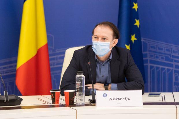 Ce spune Florin Cîțu despre vaccinarea prioritară a personalului HoReCa