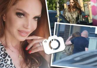 Cine este noul bărbat din viața Cristinei Spătar? Paparazzii Spynews.ro i-au surprins în tandrețuri pe stradă / PAPARAZZI