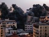 Israelul a distrus într-un atac o clădire Hamas cu 10 etaje din centrul orașului Gaza